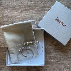 NIB Full Set Dannijo Silver Cuff Bracelets